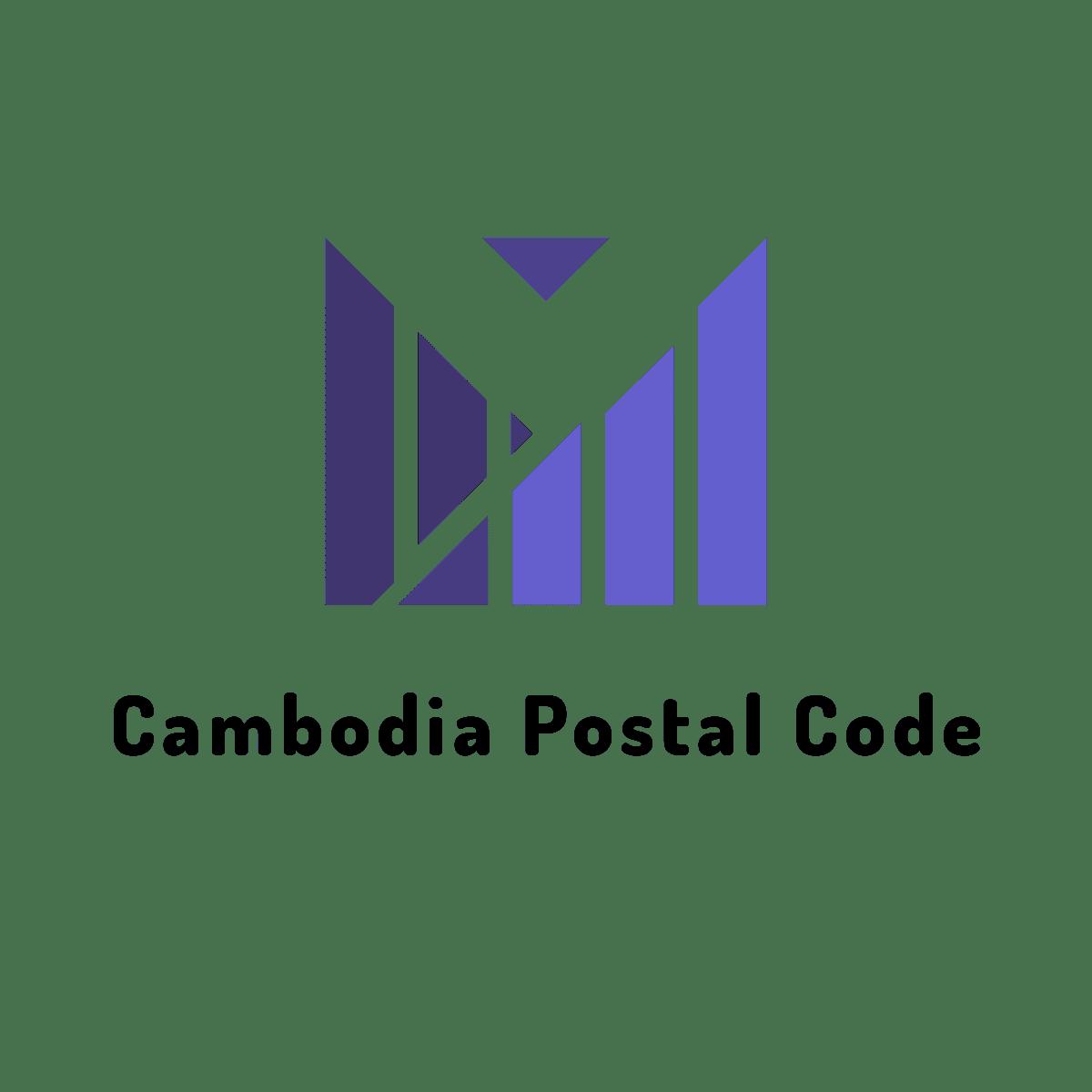 Cambodia Postal Code logo